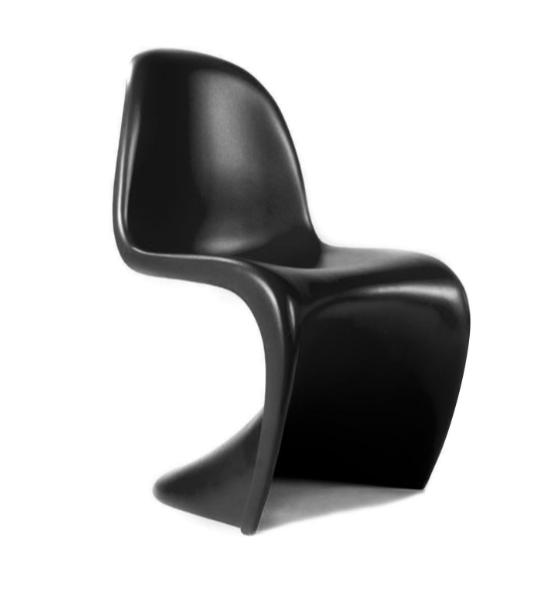Kunstof Design Stoelen.Kunststof Stoel S Chair Zwart Blue Belli