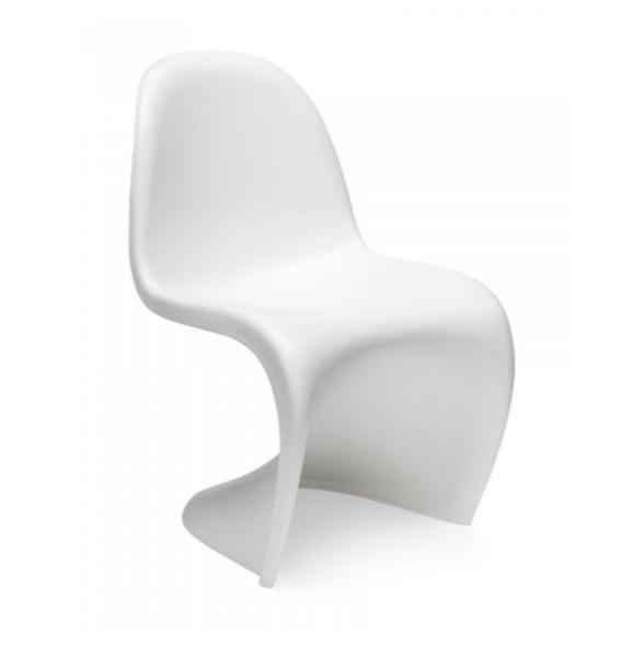 Witte Kunststof Design Stoelen.Kunststof Eetkamerstoel S Chair Wit Blue Belli